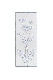 Ganz Vintage Style Embossed Floral Wall Decor - Front cropped