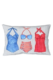 Sally Eckman Roberts Vintage Suit Pillow - Product Mini Image