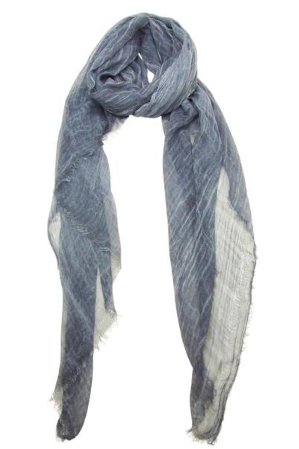 Blue Pacific Vintage Tissue Scarf - Main Image