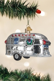 Old World Christmas Vintage Trailer Ornament - Product Mini Image