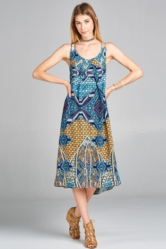 Love Kuza Vintage Tribal Sundress - Product List Image