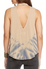 Chaser Vintage V-Back Tank - Front full body