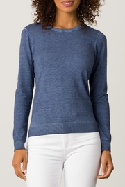 Margaret O'Leary Vintage Wash Crew - Front cropped