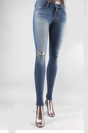 Flying Monkey Vintage-Wash Skinny Jean - Product Mini Image