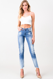 MONTREZ VINTAGE WASHED FITTED SKINNY JEANS - Product Mini Image