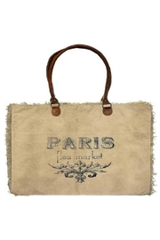 Vintage Addiction Paris Market Tote - Product Mini Image