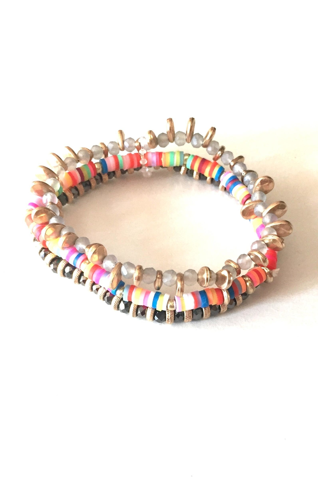 Vintage Brand Multi Beaded Bracelet - Main Image