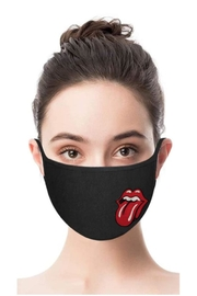 Vintage Brand Rock & Roll Facemask - Front full body