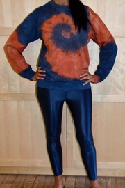 Vintage Brand Tie Dye Fleece Crew - Product Mini Image