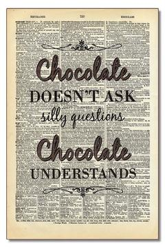 Shoptiques Product: Chocolate Doesn't Ask