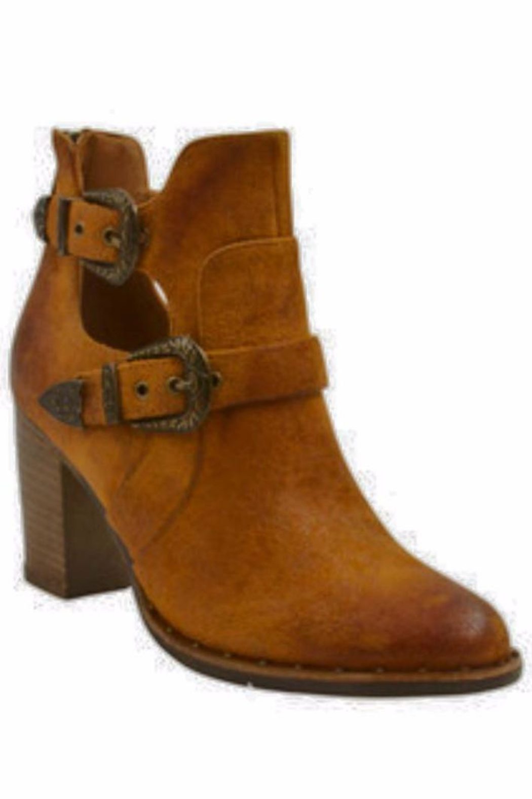 Vintage Havana Braxton Leather Bootie - Main Image