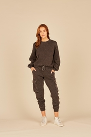 Vintage Havana Burnout Cargo Sweatpant - Product Mini Image