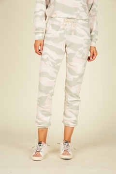 Vintage Havana Camo Fleece Joggers - Alternate List Image