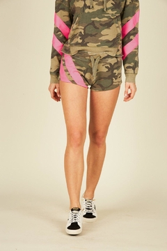 Vintage Havana Camo Fleece Short - Alternate List Image