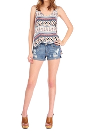 Shoptiques Product: Denim Distressed Short