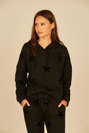 Vintage Havana French Terry Star Hoodie - Front cropped