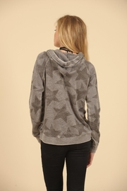 Vintage Havana Star Lace Up Hoodie - Front full body