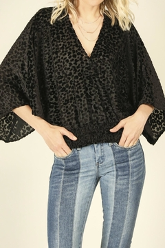 Shoptiques Product: Leopard Burnout Top