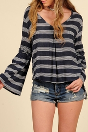 Vintage Havana Nautical Bell Top - Side cropped