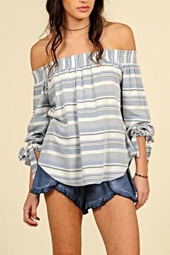 Shoptiques Product: Off Shoulder Blouse