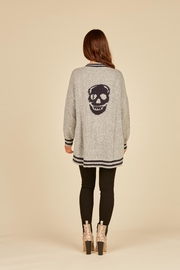 Vintage Havana Skull Sweater Cardigan - Product Mini Image