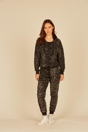 Vintage Havana Snakeskin Fleece Sweatpant - Product Mini Image