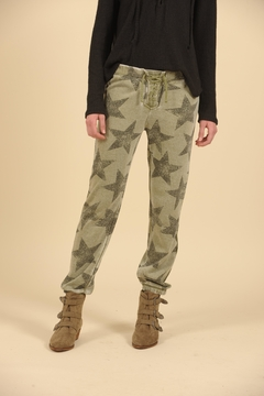Shoptiques Product: Star Lace Up Sweatpants