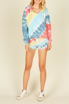 Vintage Havana Tie Dye Burnout Short - Alternate List Image