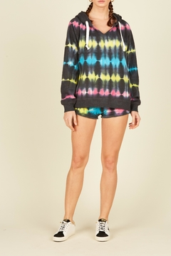 Vintage Havana Tie Dye Fleece Short - Alternate List Image