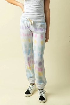 Shoptiques Product: Unicorn Tie-Dye Jogger