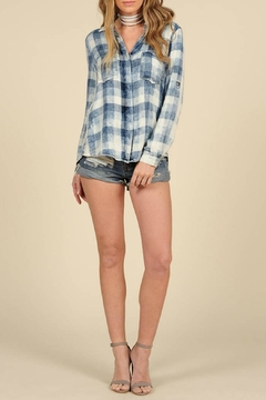 Shoptiques Product: Washed Button Down Top