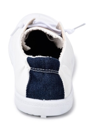 Vintage Havana White Slip-On Sneakers - Back cropped