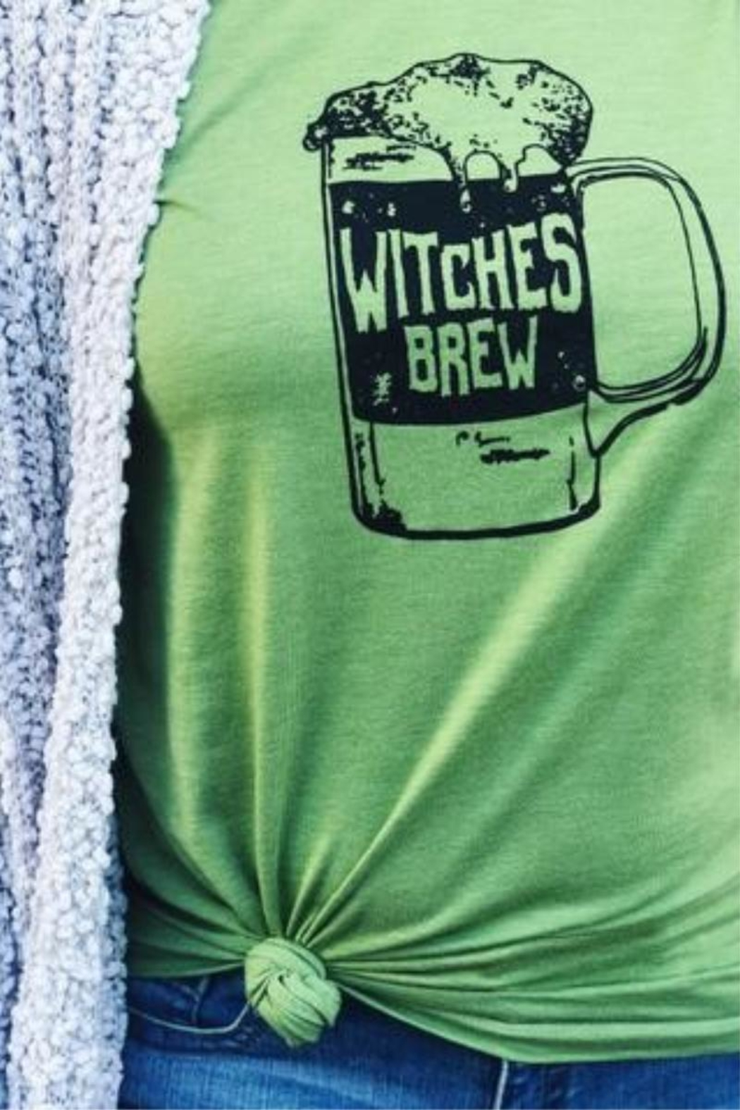 vintage soul Halloween Witches Brew - Front Full Image