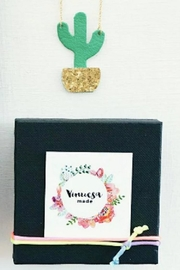 Vinuesa Made Potted Cactus Necklace - Product Mini Image