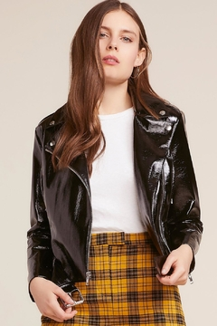 BB Dakota Vinyl Moto Jacket - Product List Image