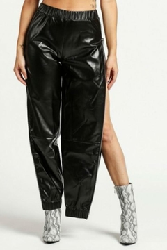 Rehab Vinyl Track Pants - Product List Image