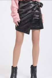 J.O.A. Vinyl Wrap Skirt - Product Mini Image