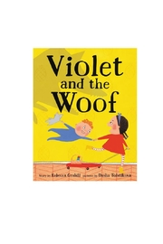 Harper Collins Publishers Violet And-The Woof - Front cropped