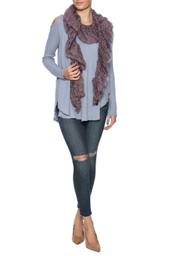 Violet Del Mar Knitted Scarf - Product List Image