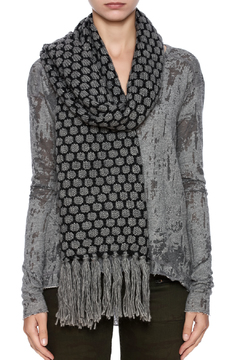 Violet Del Mar Knitted Scarf - Alternate List Image