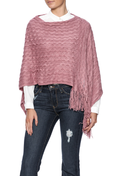 Violet Del Mar Woven Poncho - Product List Image