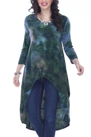 Parsley and Sage VIOLET HI/LO TUNIC DUSTER - Product Mini Image