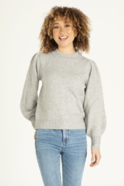 another love  Violet Puff Sleeve Sweater - Product Mini Image