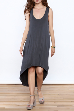 Violet Ruby High Low Grey Dress - Product List Image
