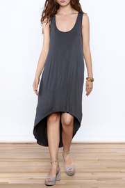 Violet Ruby High Low Grey Dress - Product Mini Image