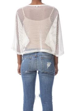 Shoptiques Product: Mesh Pull-Over Top