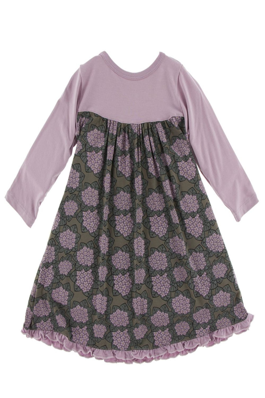 Kickee Pants Violet Swing Dress - Front Cropped Image