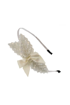 Shoptiques Product: Beaded Leaf Headband