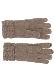 Violet & Virtue Cable Knit Gloves - Front full body