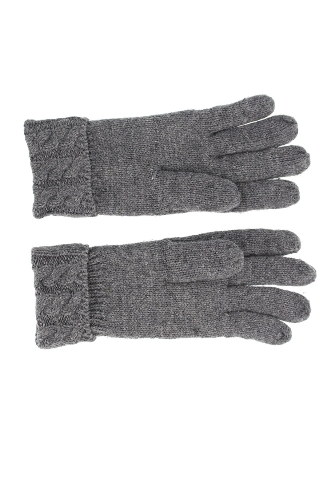 Violet & Virtue Cable Knit Gloves - Front Full Image